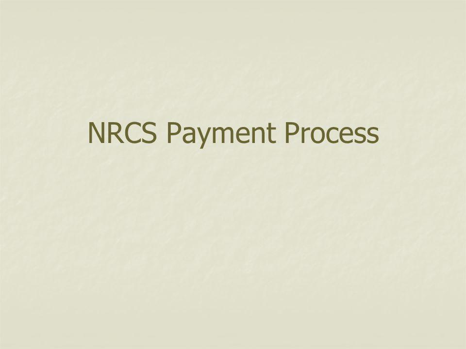 NRCS Payment Process