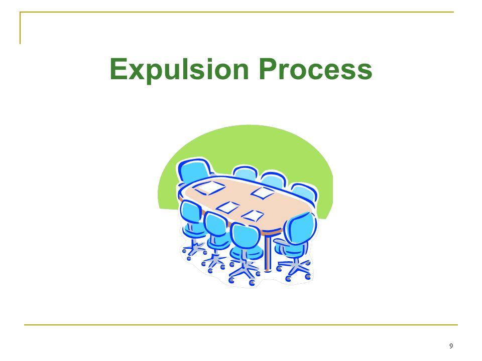 9 Expulsion Process