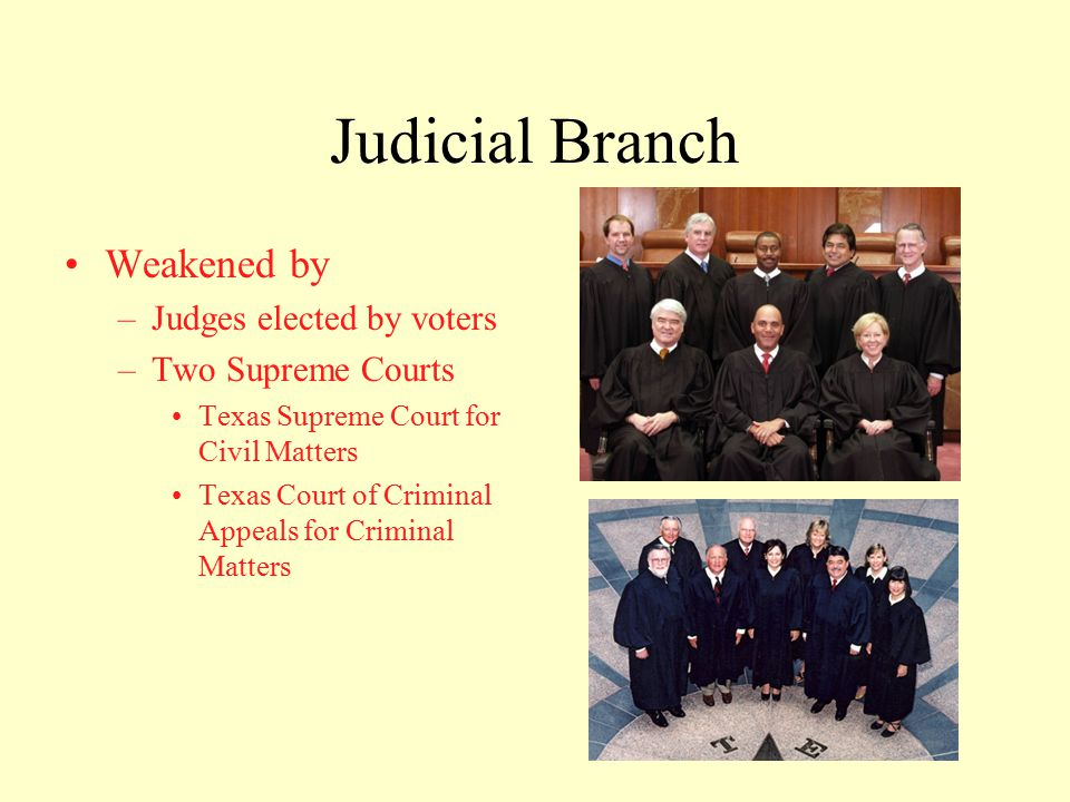 Amending the Texas Constitution Texas Constitution has been amended over 400 times and counting –Second longest in the nation Amendment By: –Proposal by Legislature –Ratified or Approved by Voters in Statewide Election Reform attempts to draft modern constitution have failed for fear of state income tax