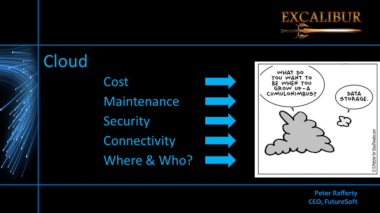 Cloud Cost Maintenance Security Connectivity Where & Who