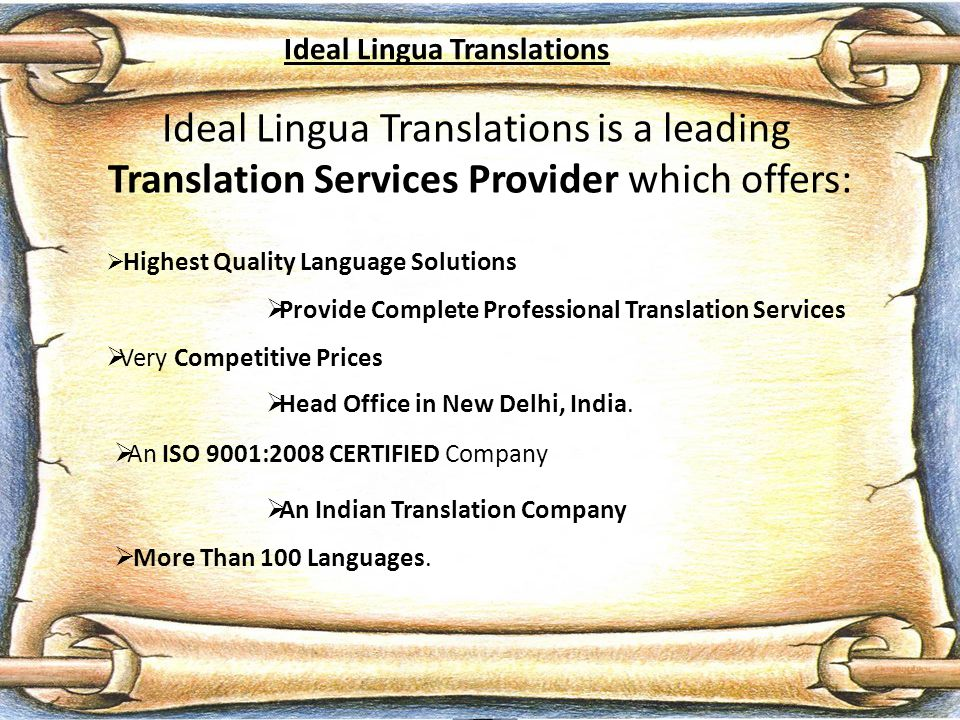 We do General Translation, Technical Translation, Legal Translation, Medical Translation, Website Translation, Marketing Translation, Literary Translation, Certified Translation and Audio & Video Translation.