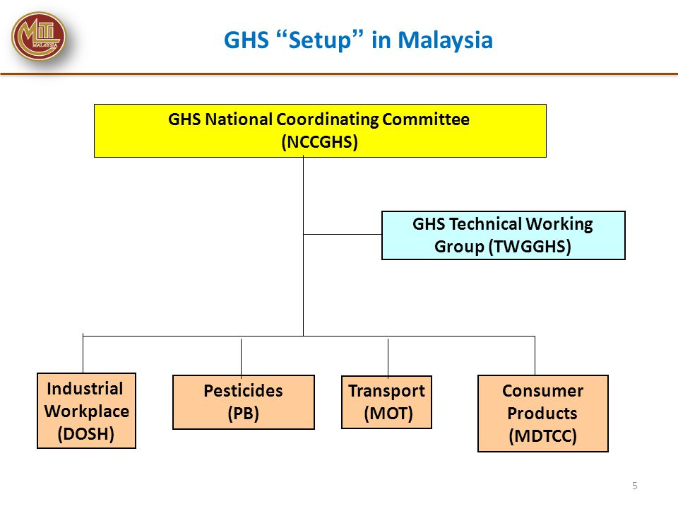GHS Implementation Roadmap ST8 (Consumer): Enhance preparedness for GHS implementation in consumer sector No.