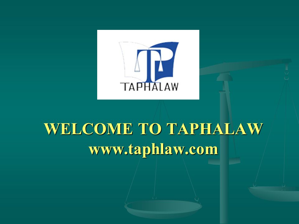 Introducation of Taphalaw LAWYER VO ĐAN MACH DR.