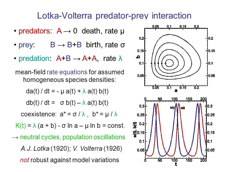 Predator-prey coexistence: focal fixed point Resonantly amplified stochastic population oscillations near focus A.J.