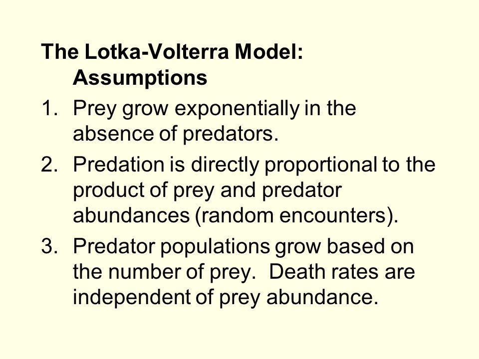 Predation (Chapter 18) 1.Finish Lotka-Volterra model 2.Functional vs.