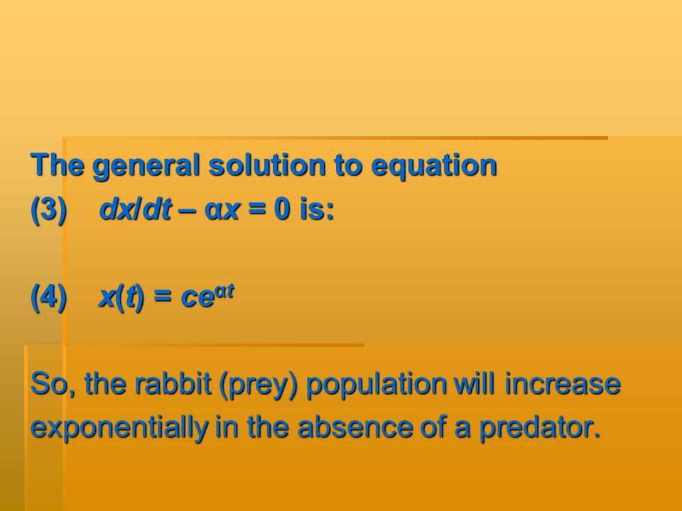 Or… dy/dx = (-0.05 + 0.0004x)y / (0.02 – 0.0005y)x.