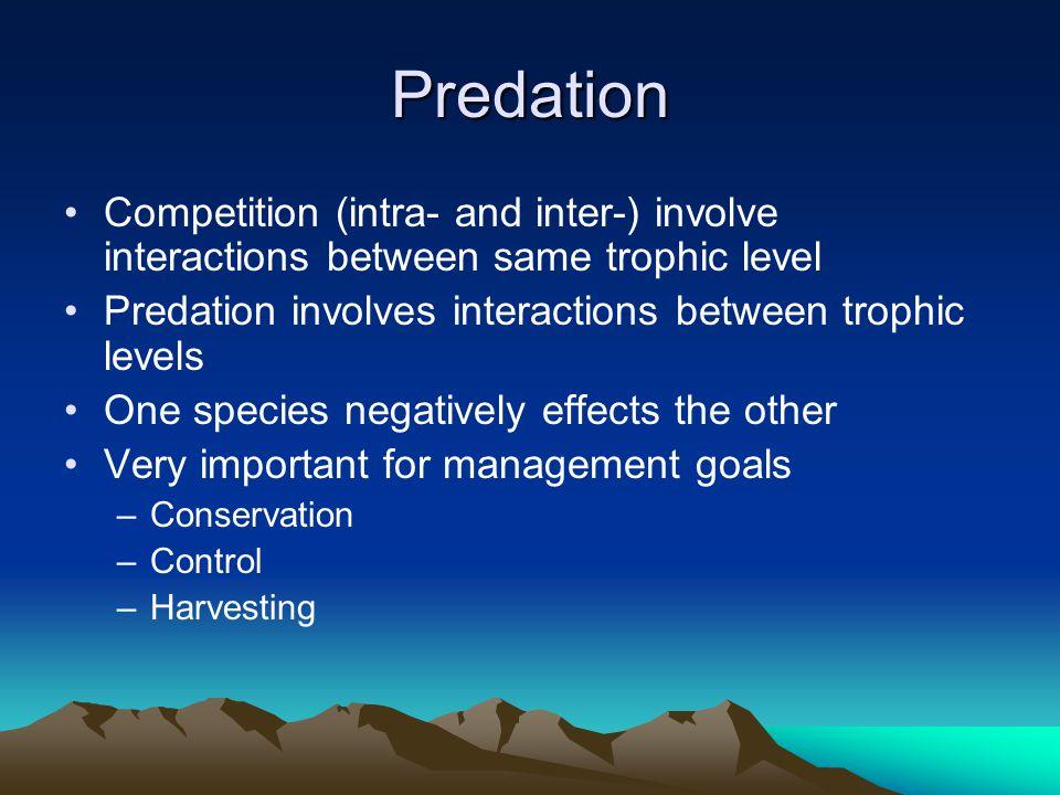 Behavior of prey How does the behavior of the prey influence predation.