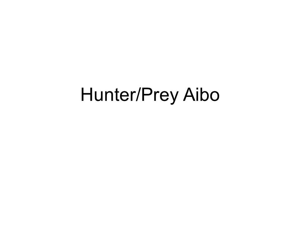 Hunter/Prey Aibo