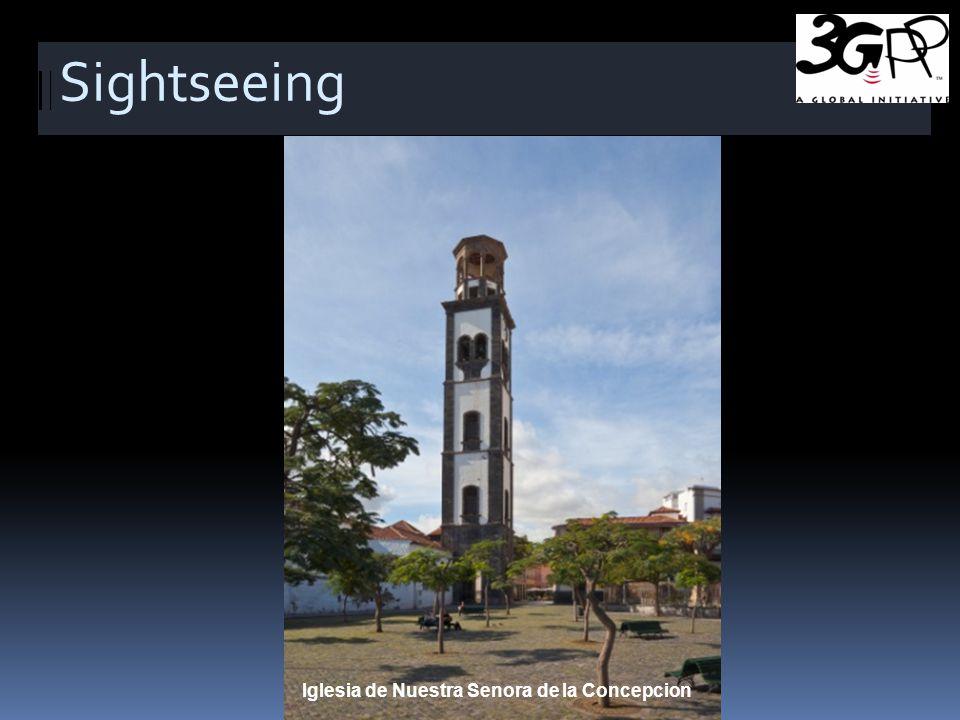 Sightseeing Iglesia de Nuestra Senora de la Concepcion