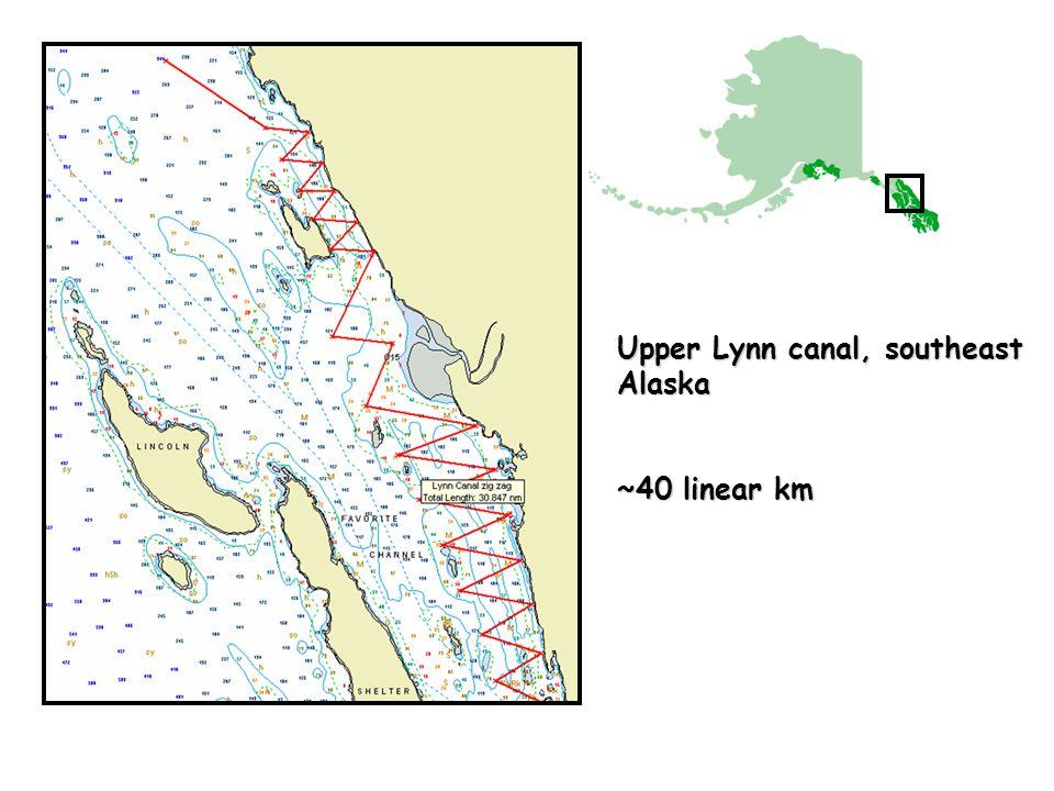 Upper Lynn canal, southeast Alaska ~40 linear km