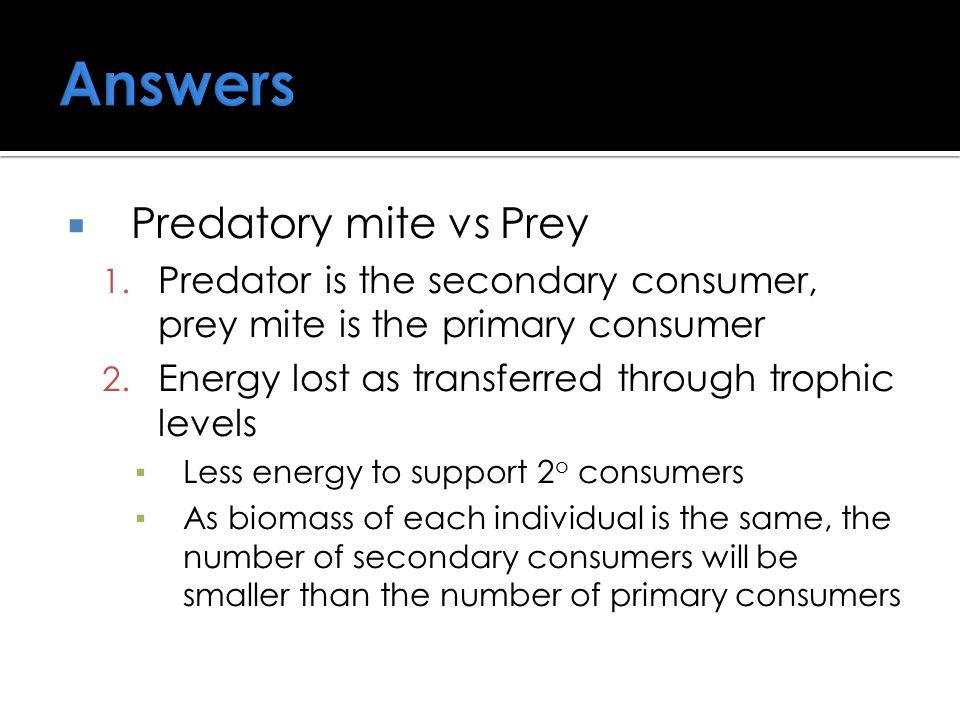  Predatory mite vs Prey 1.