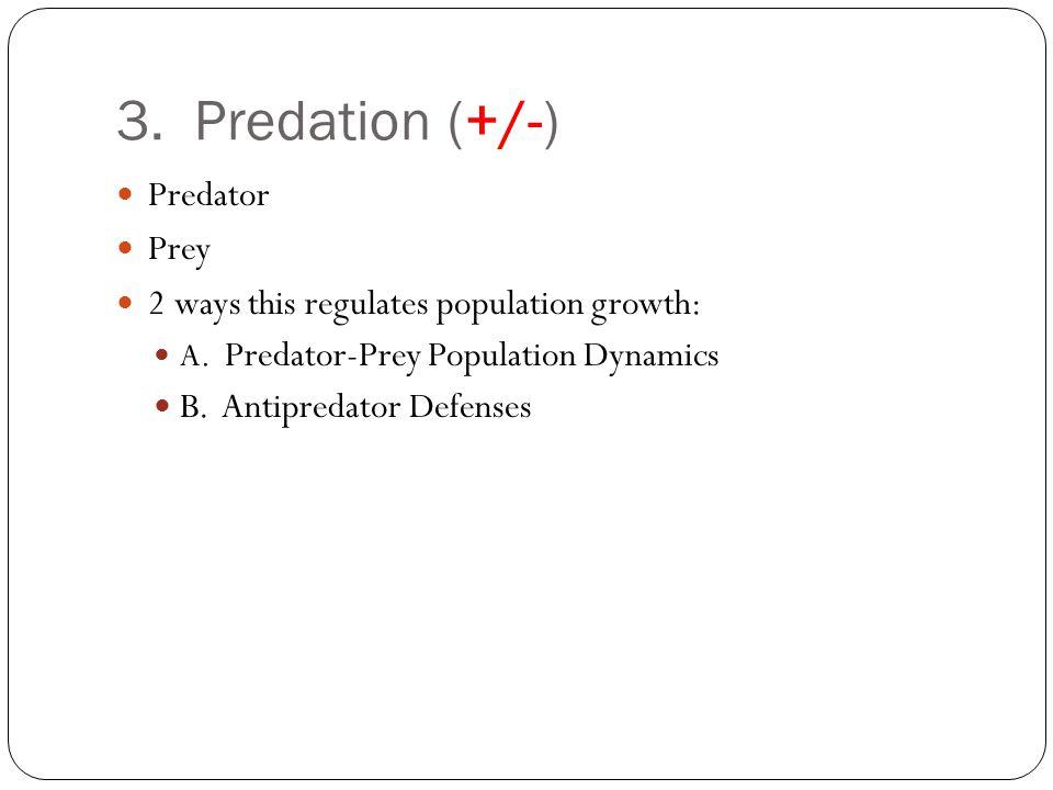 3.Predation A.