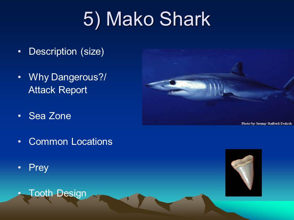 Threat Posture Forewarning Duration Description Other Sharks