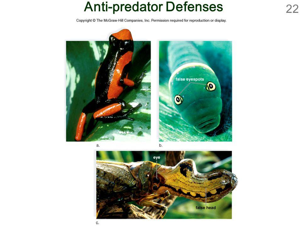 22 Anti-predator Defenses