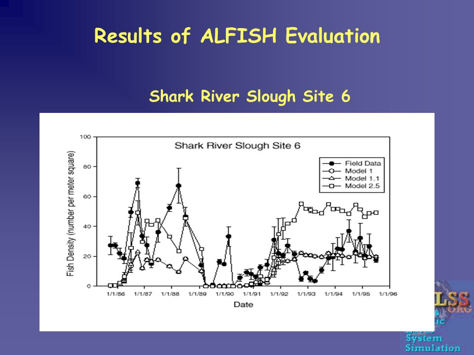 Results of ALFISH Evaluation Shark River Slough Site 6