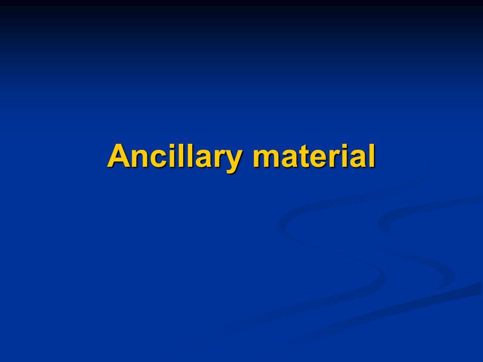 Ancillary material