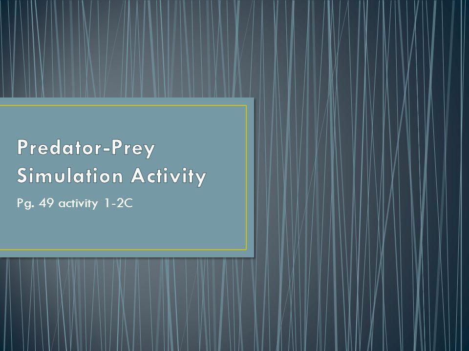 Pg. 49 activity 1-2C