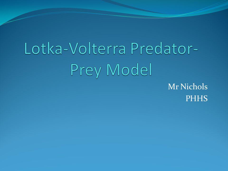 Mr Nichols PHHS