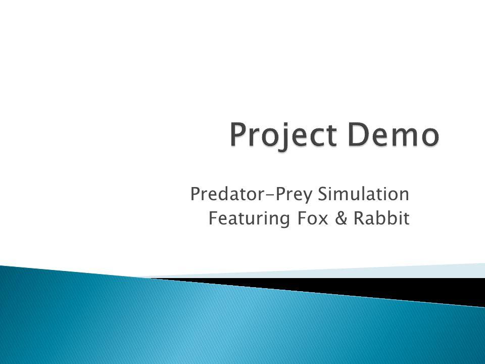 Predator-Prey Simulation Featuring Fox & Rabbit