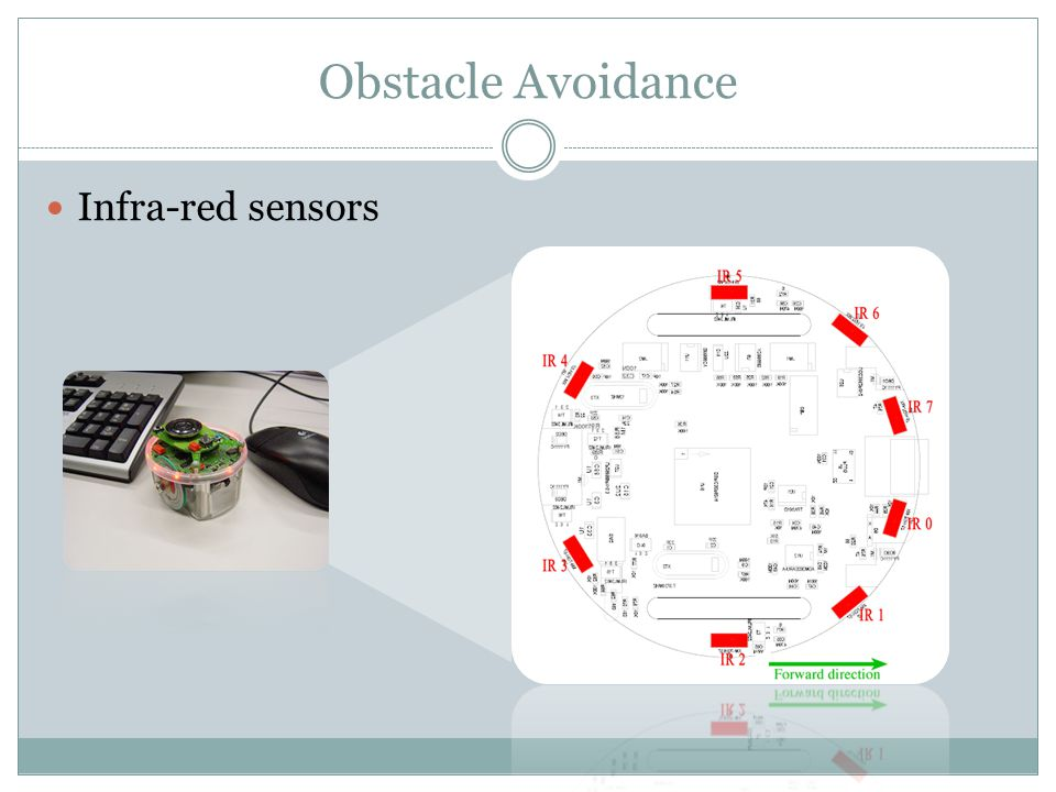 Obstacle Avoidance Infra-red sensors