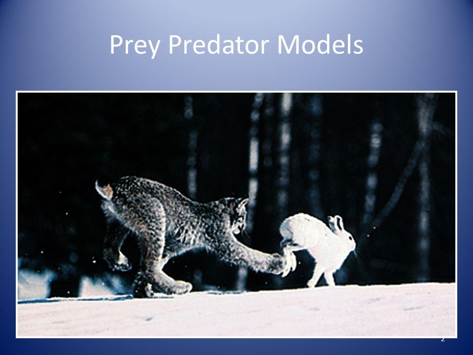 Prey Predator Models 2