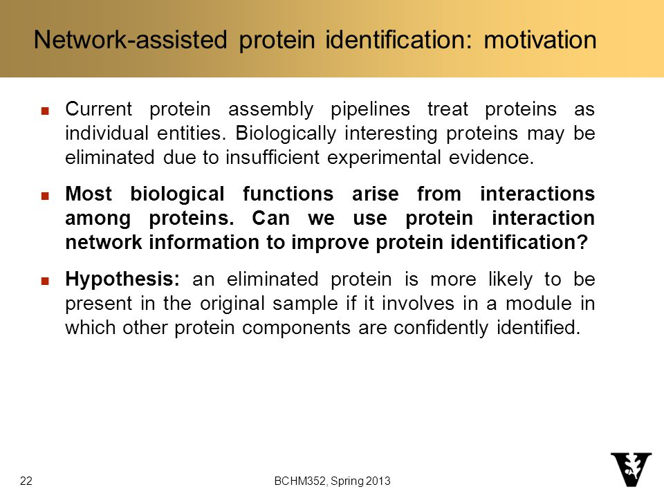 Current protein assembly pipelines treat proteins as individual entities.