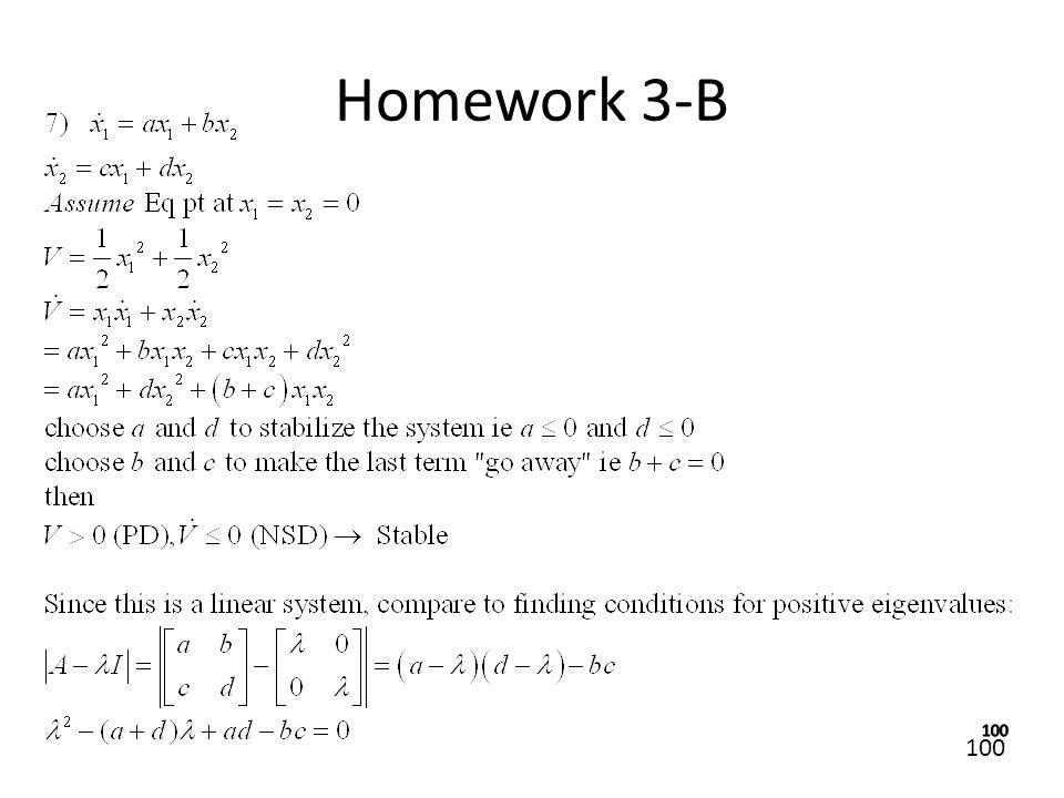 100 Homework 3-B