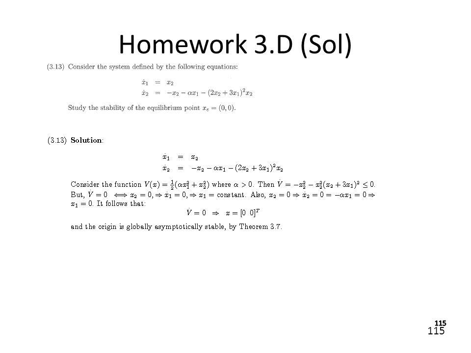 115 Homework 3.D (Sol)