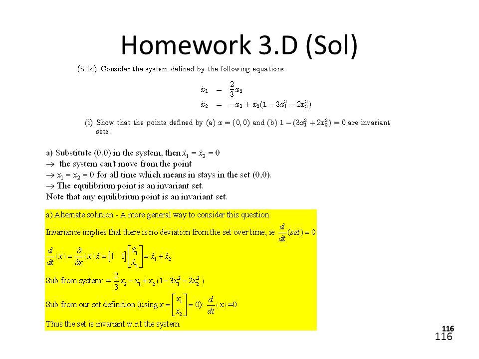 116 Homework 3.D (Sol)