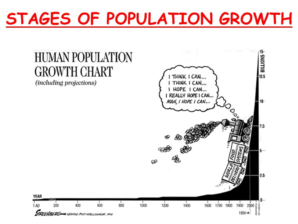 Population Growth can be… Exponential ORLimited (J curve)(S curve)