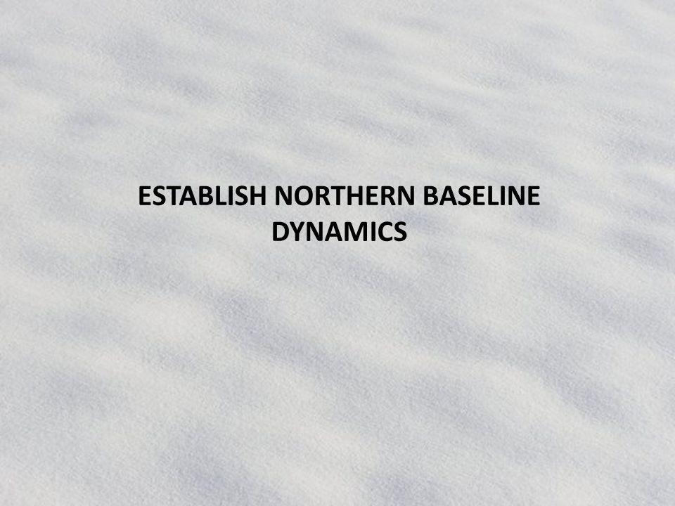 ESTABLISH NORTHERN BASELINE DYNAMICS