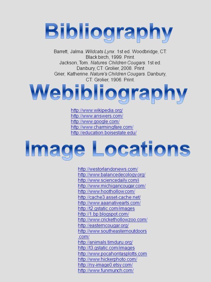 http://westorlandonews.com/ http://www.balancedecology.org/ http://www.sciencedaily.com/i http://www.michigancougar.com/ http://www.hoothollow.com/ ht
