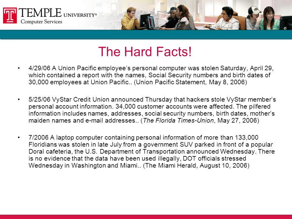 2006 Disclosures of U.S.