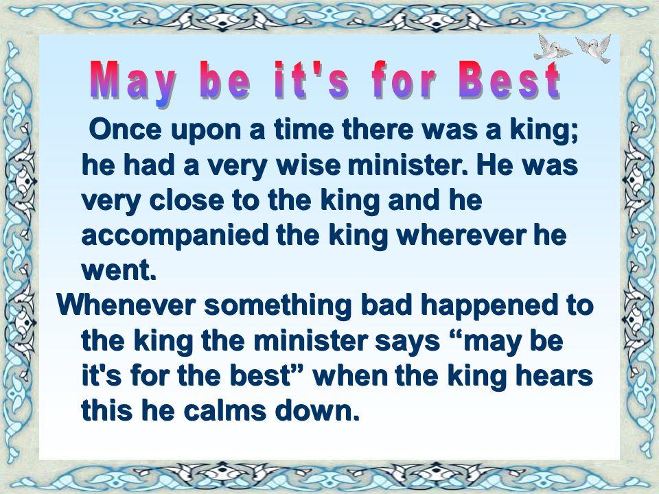 فكان في صنع الله كل الخير في هذه القصة ألطف رسالة لكل مبتلى كي يطمئن قلبه ويرضى بقضاء الله عز وجل ويكن على يقين أن في هذا الابتلاء الخير له في الدنيا
