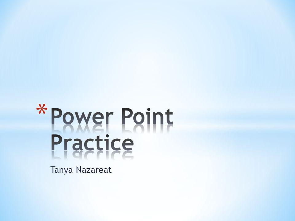Tanya Nazareat