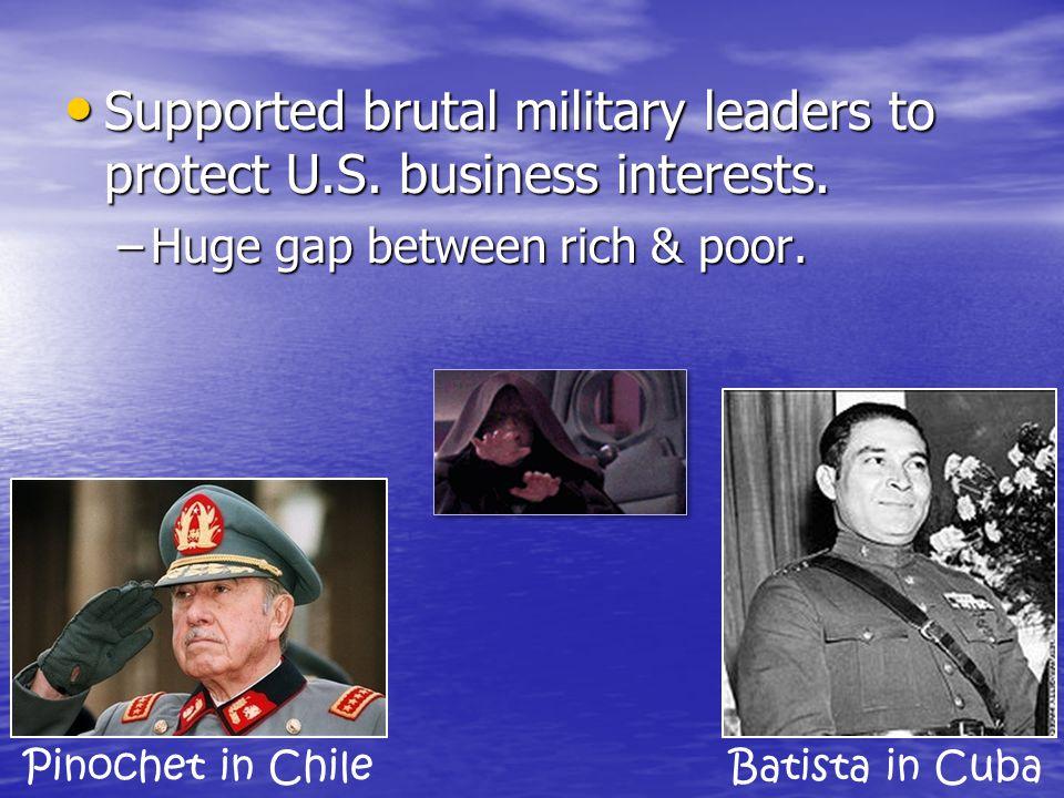 Economic Imperialism U.S. business created cash crop, export economies in Latin America. U.S. business created cash crop, export economies in Latin Am