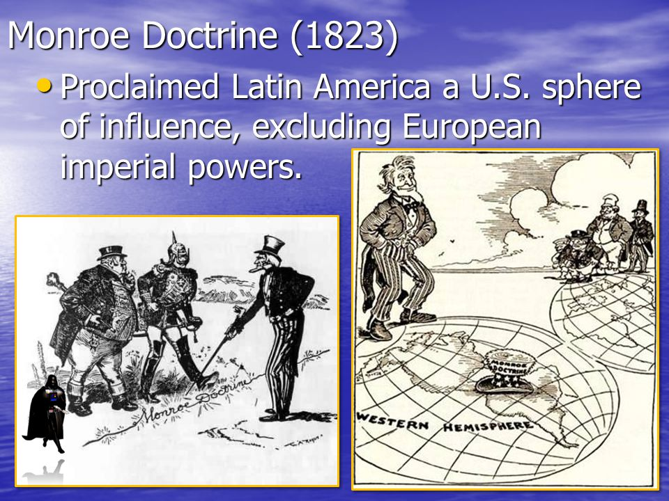 U.S. Imperialism In Latin America Essential Question: Explain how the U.S. has controlled Latin American territories and economies. Set up your C. Not