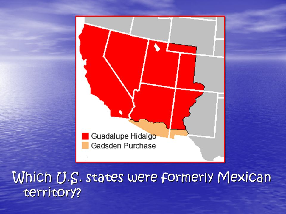 Mexican-American War (1846-48) In 1835, Americans living in the Mexican state of Texas revolted. In 1835, Americans living in the Mexican state of Tex
