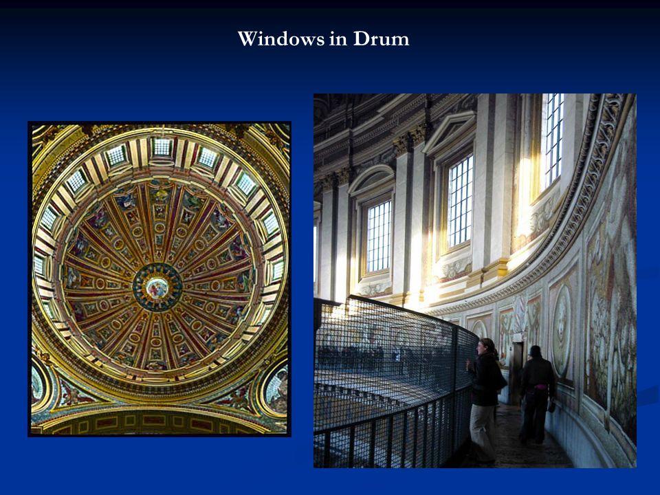 Windows in Drum