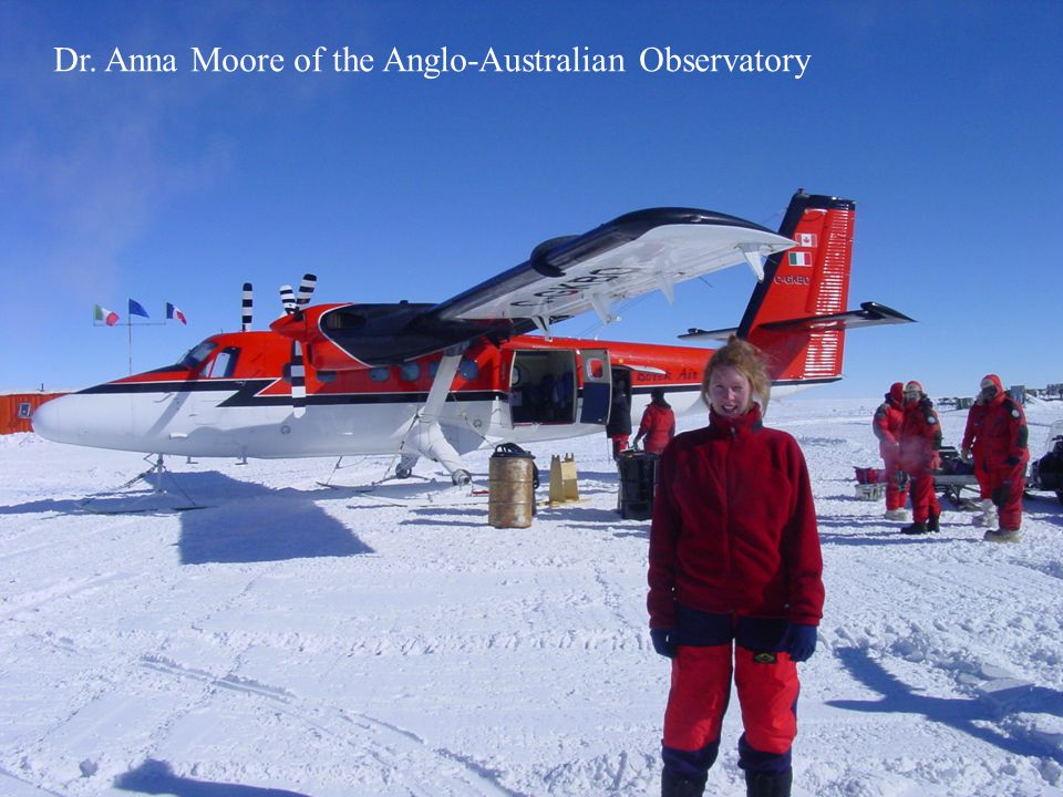 Shelley Knuth June 8, 2004 AWS Annual Meeting An Analysis of Surface Wind Speeds at Dome C, Antarctica Dr. Anna Moore of the Anglo-Australian Observat