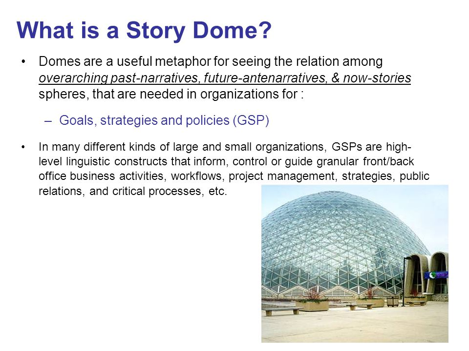 What is a Story Dome.