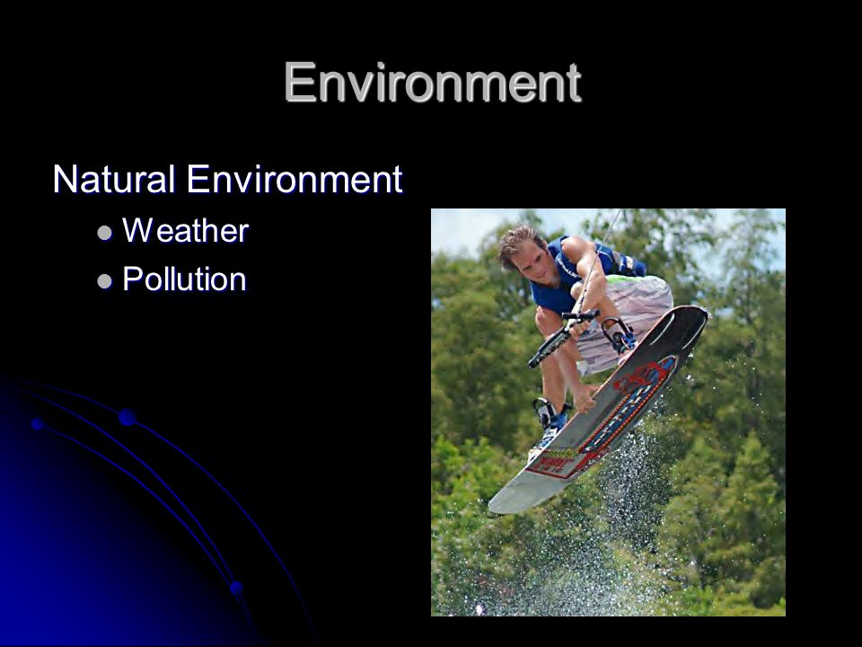 Environment Natural Environment Weather Weather Pollution Pollution