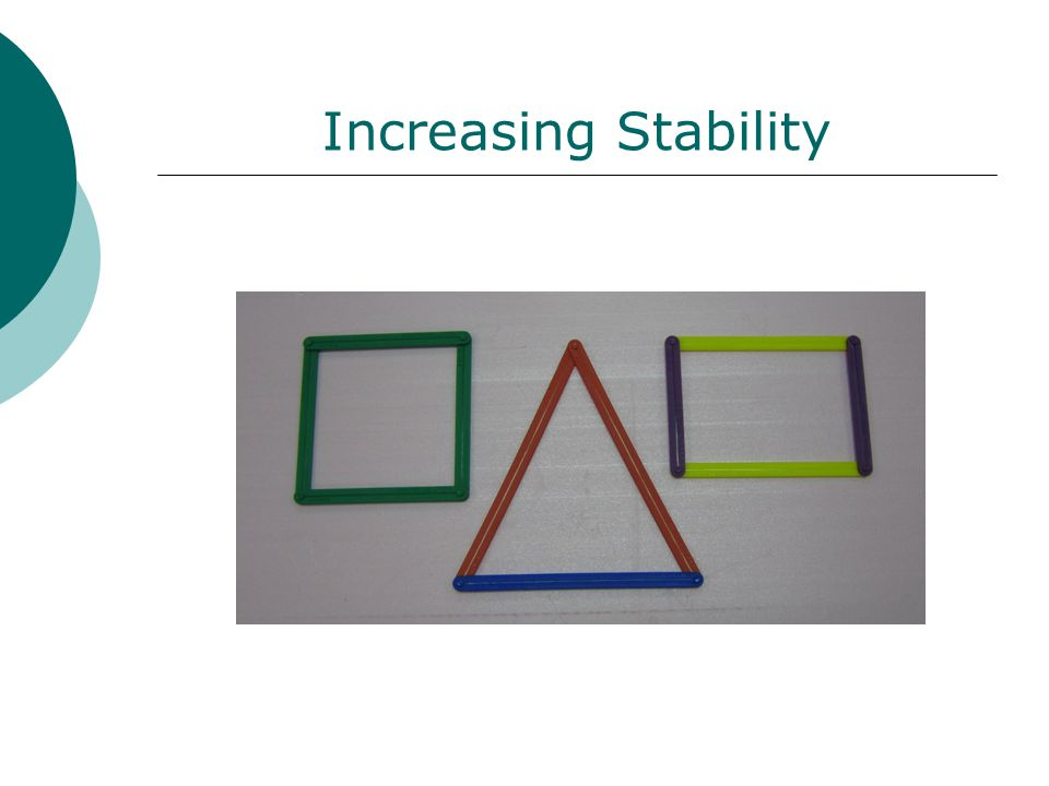 Increasing Stability
