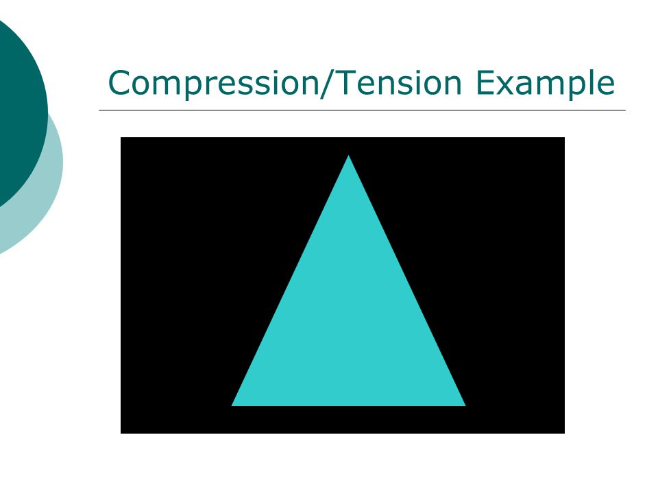 Compression/Tension Example