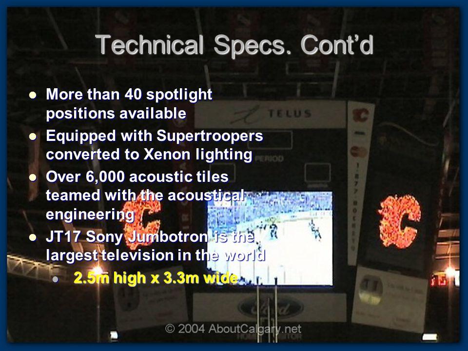 Technical Specs.