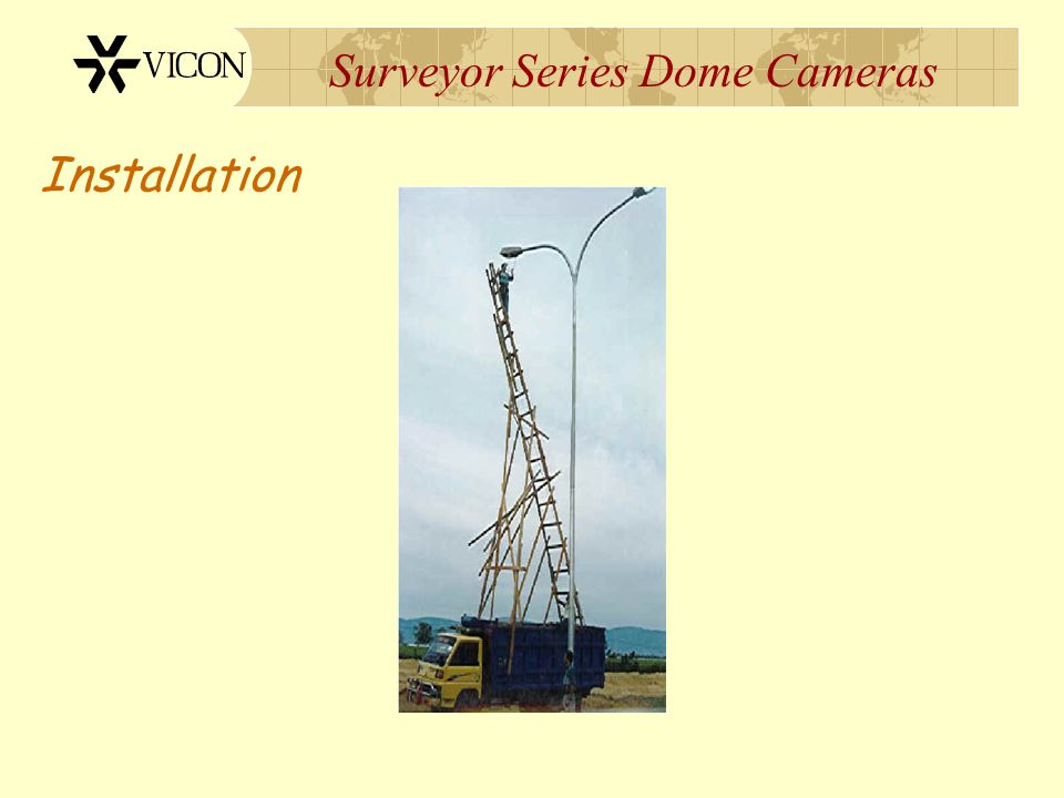 Surveyor Series Dome Cameras Installation