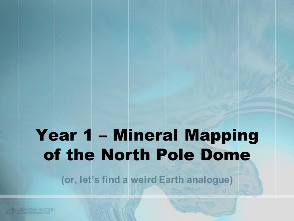 North Pole Dome Setting – eastern Pilbara, north Western Australia Situated north of Hamersley Ranges (BIFs) Warrawoona Group - early Archaean (3.2-3.5 Gya) 'North Pole' Dome ironically named North Pole Dome Shark Bay