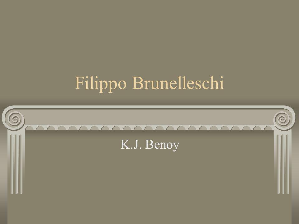 Filippo Brunelleschi K.J. Benoy