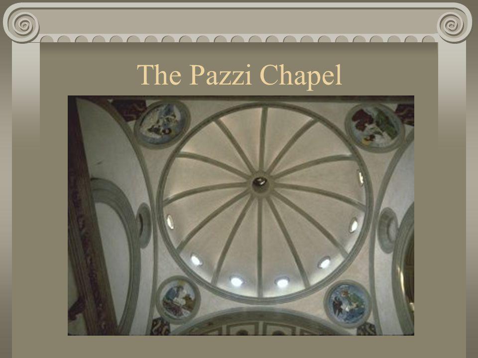 The Pazzi Chapel