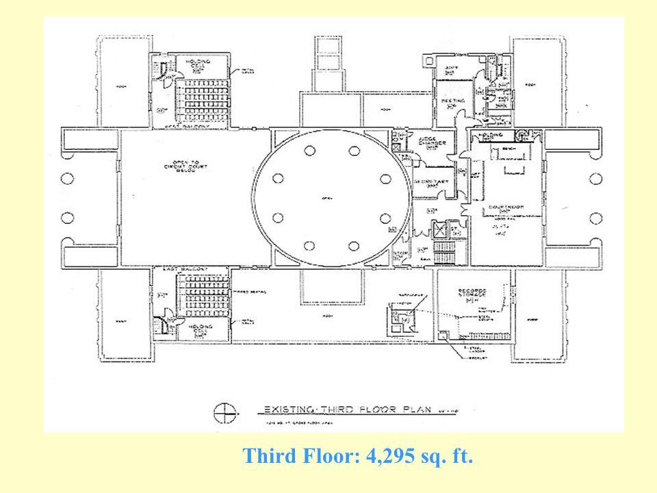 Second Floor: 17,600 sq. ft.